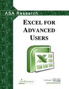 Excel for advanced users