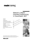 OOP in Visual Basic .NET
