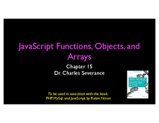 JS Functions, Objects, and Arrays