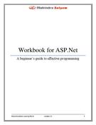 ASP.Net for beginner