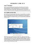 Introduction to Mac OS X