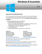 Windows 8 Essentials