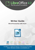LibreOffice 4.0 Writer Guide