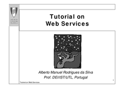 Tutorial on Web Services
