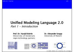 Unified Modeling Language 2.0
