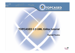 Topcased 2.5 UML Editor tutorial