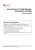 Introduction to T4 Site Manager