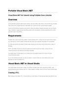 Portable Visual Basic.NET
