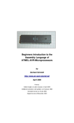 Introduction to the AVR Assembly Language