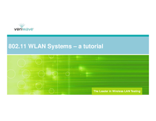 802.11 WLAN Systems