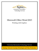 Word 2013: Working with Graphics