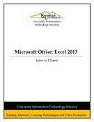 Excel 2013: Intro to Charts