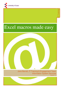 Excel macros made easy