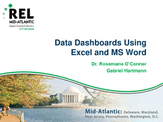 Data Dashboards Using Excel and MS Word