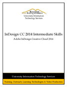InDesign CC 2014 Intermediate Skills