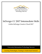InDesign CC 2017 Intermediate Skills