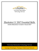 Illustrator CC 2017 Essential Skills