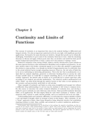 Continuity and Limits of Functions
