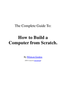 How to Build a Computer from Scratch