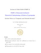Finite Fields (PART 3) - Polynomial Arithmetic