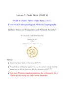 Finite Fields (PART 4) - Finite Fields of the Form GF(2n)