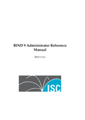BIND 9 Administrator Reference Manual