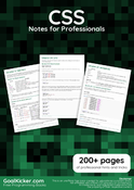 CSS Notes for Professionals book