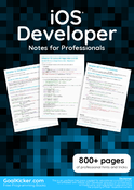 iOS Developer Notes for Professionals book