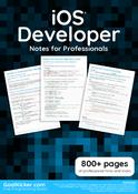 iOS Developer Notes for Professionals book