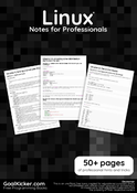 Linux Notes for Professionals book