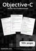 Objective-C Notes for Professionals book