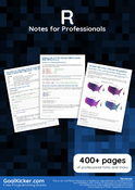 R Notes for Professionals book