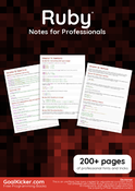 Ruby Notes for Professionals book