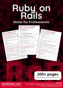 Ruby on Rails Notes for Professionals book