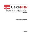 CakePHP Cookbook Documentation