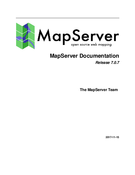 MapServer Documentation