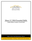 Adobe Muse CC 2018 Essential Skills