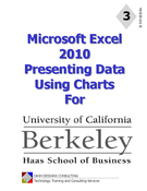 Excel 2010 Presenting Data Using Charts
