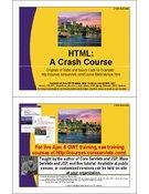 HTML a Crash Course
