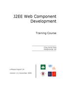 J2EE Web Component Development