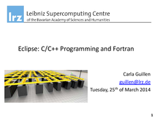 Eclipse: C/C++ Programming and Fortran