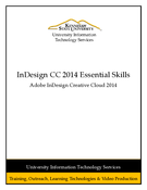 InDesign CC 2014 Essential Skills