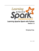 Learning Apache Spark with Python