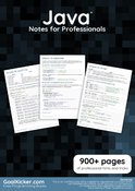 Java Notes for Professionals book