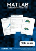 MATLAB Notes for Professionals book