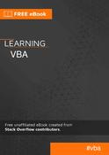 Learning VBA